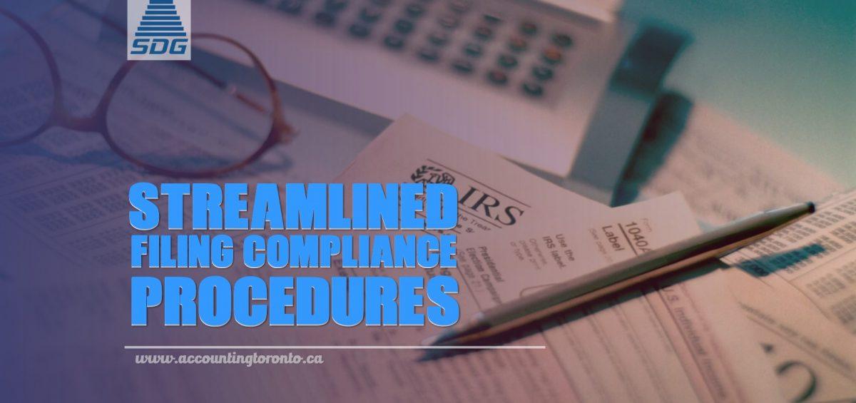 Streamlined Filing Compliance Procedures