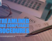 Streamlined Filing Compliance Procedures